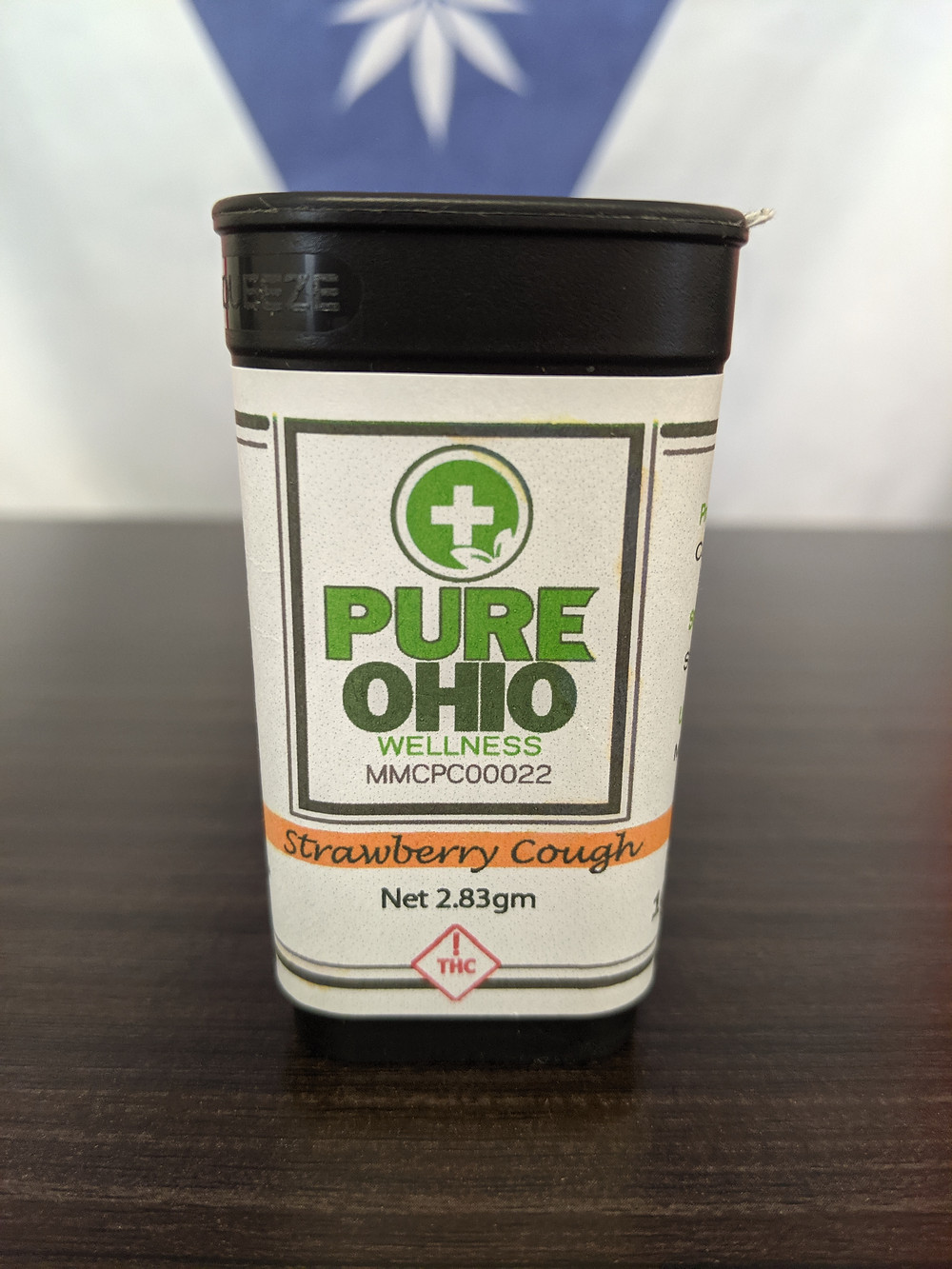 Packaging for Pure Ohio Wellness Flower