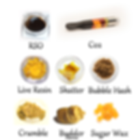 Types of Cannabis Concentrates
