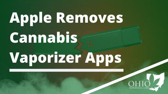 Apple Removes Cannabis Vaporizer Apps
