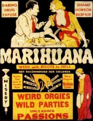 Anti-marijuana propaganda
