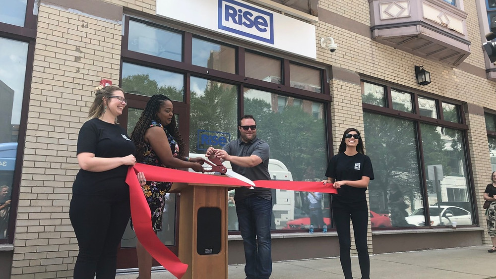 Ribbon Cutting at Rise Dispensary in Downtown Cleveland