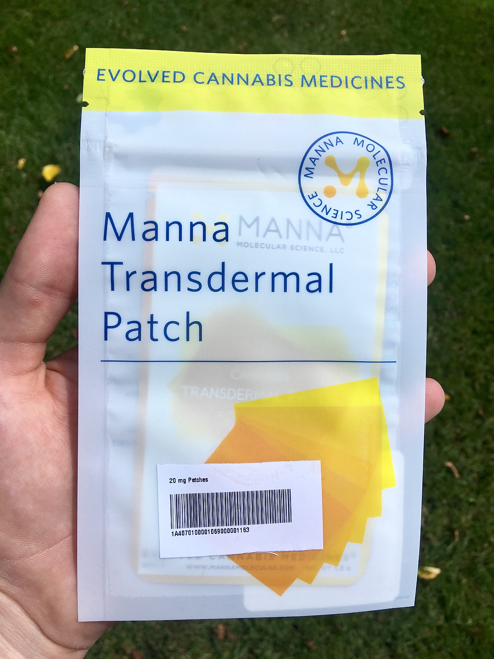 Standard Wellness partnership with Manna transdermal patches