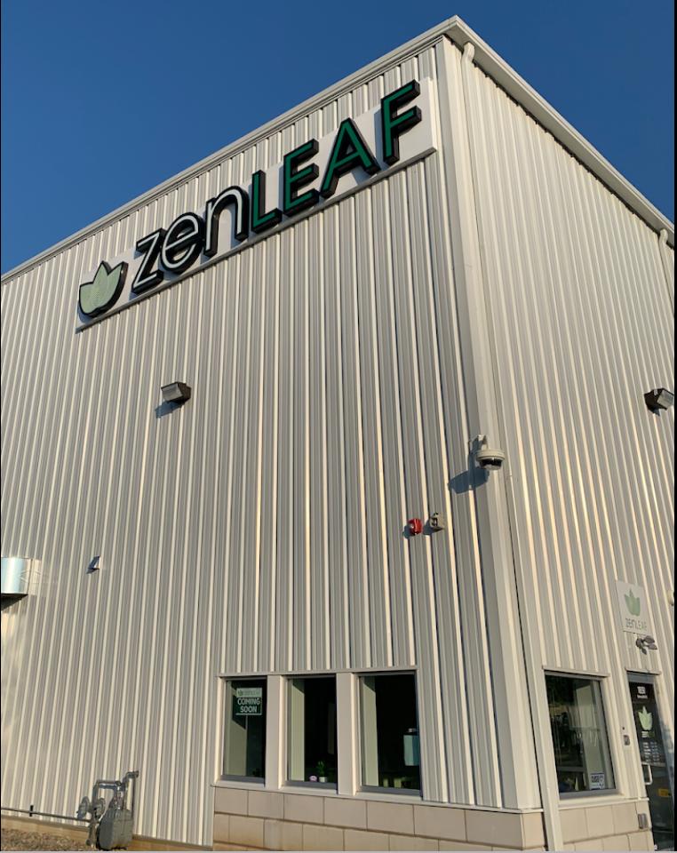 Zen Leaf Dispensary - Exterior Building