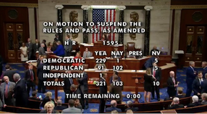 SAFE Banking Act passes 321-103 in House