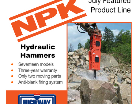 Hit Harder with NPK Hammers