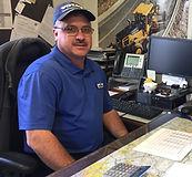 Parts Manager Ken Vonada