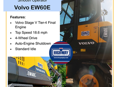 See Why The Volvo EW60E Performs Like a Smooth Operator