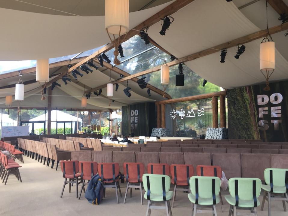 wood clad ceiling beams