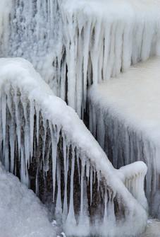 Lake Michigan Ice Sculpture II