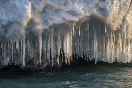 Lake Michigan Ice Sculpture III