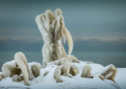 Lake Michigan Ice Sculpture IV
