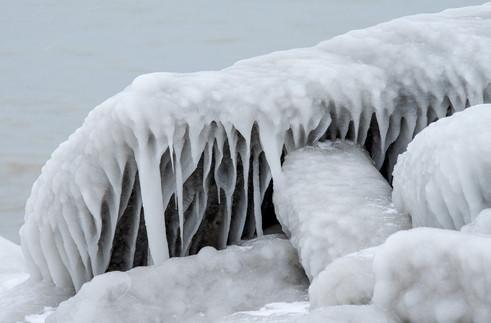 Lake Michigan Ice Sculpture I