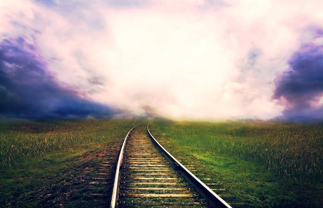 Wenn der Zug aus den Gleisen springt