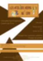 Les ateliers Verygolos pour les enfants. Pendant les vacances scolaires, toutes zones confondues : zone A, B et C. Le mercredi de 10 h à 12 h ou de 14 h à 16 h. Tarif : 30 €, matériel fourni. Renseignements et inscriptions à l'Office de Tourisme de Merville-Franceville-Plage : téléphone 02 31 24 23 57