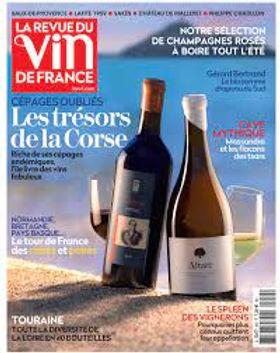 Le Domaine Antoine Marois dans le dernier numéro de La Revue du vin de France