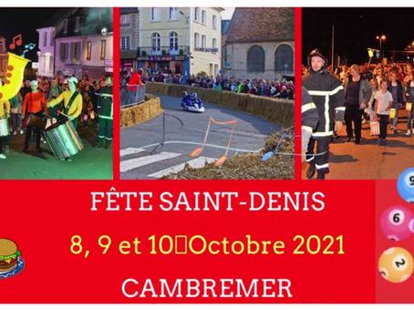Fête Saint-Denis, à Cambremer (14340)
