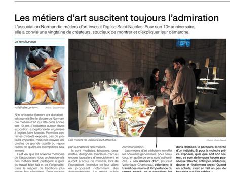 Les 10 ans de Normandie Métiers d'Art : Eglise St Nicolas de Caen