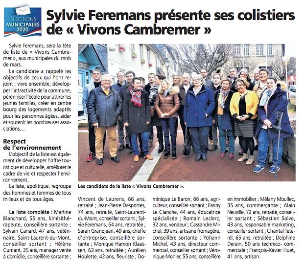 Sylvie Feremans - Le Pays d'Auge - Févri