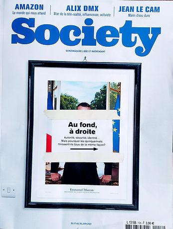 Cambremer à l'honneur dans le magazine Society du mois de juin 2021, au travers du dernier Bingo Bouse