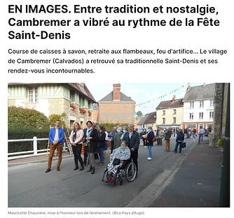 Fête Saint-Denis de Cambremer