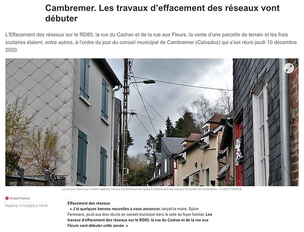 Travaux d'Effacement-Ouest France-2020-12-11
