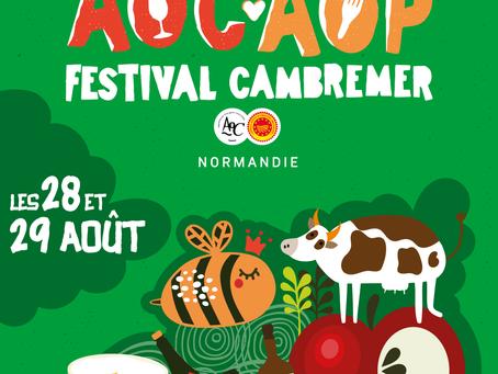 27-28 Août : Festival des AOC-AOP de Cambremer - Route du cidre