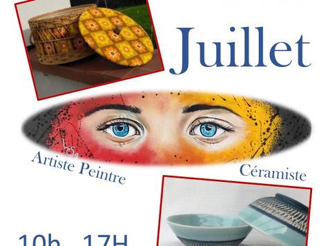 Les rendez-vous de la Grange aux Dîmes : 7 - 13 juillet. Trois femmes, trois univers.