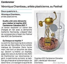 Trophée AOC Cambremer-Calvados 2021