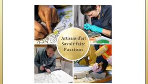 12 - 13 juin : Village des métiers d'art