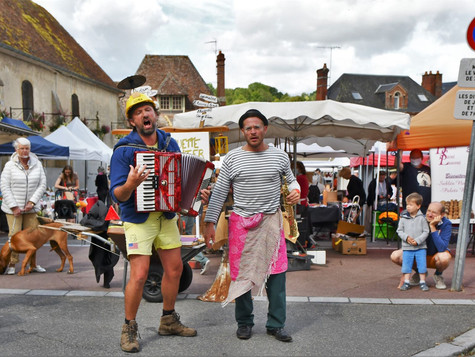 29 mai : marché à l'ancienne de Cambremer