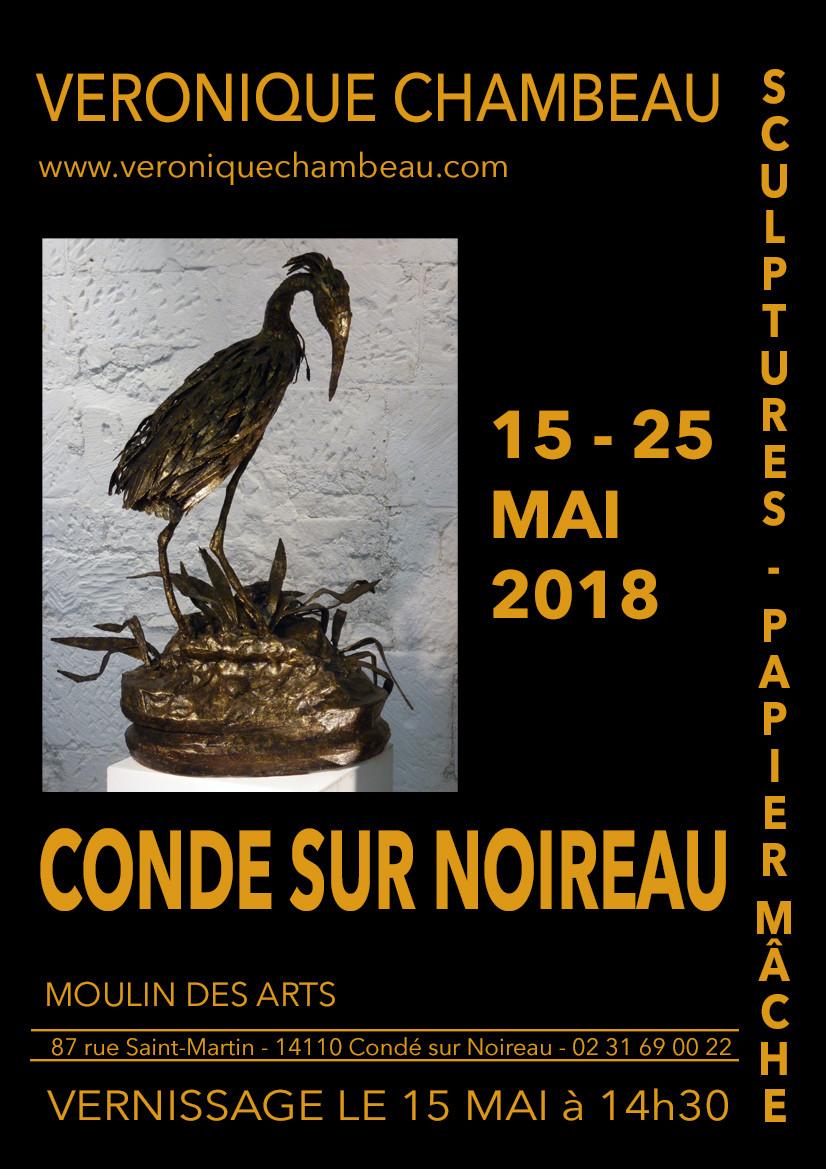 Véronique Chambeau au Moulin des Arts