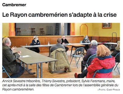 Le Rayon Cambremérien s'adapte à la cris