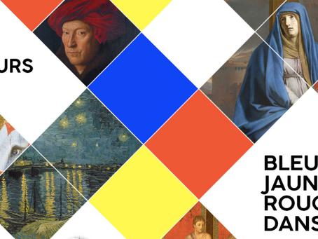 Bleu, jaune, rouge dans l'art : MOOC couleurs !