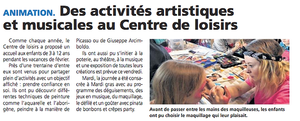 Centre de Loisirs - Le Pays d'Auge - Fév