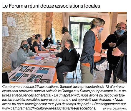 Forum Mairie - Ouest France - Septembre
