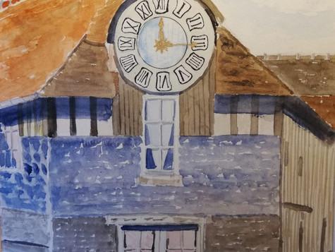 Les rendez-vous de la Grange aux Dîmes : 11 - 17 Août. Les peintres du Cadran.