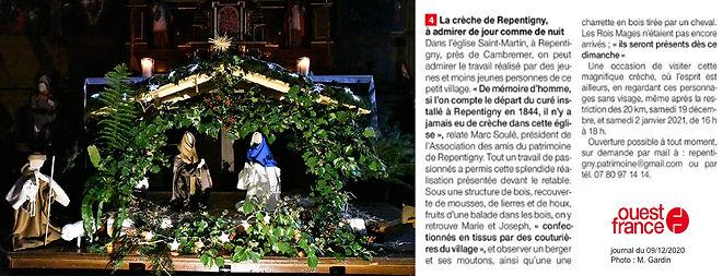 Creche Repentigny - Ouest France - 2020-