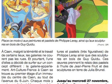 Centre de Caen : galerie originale pour les artistes