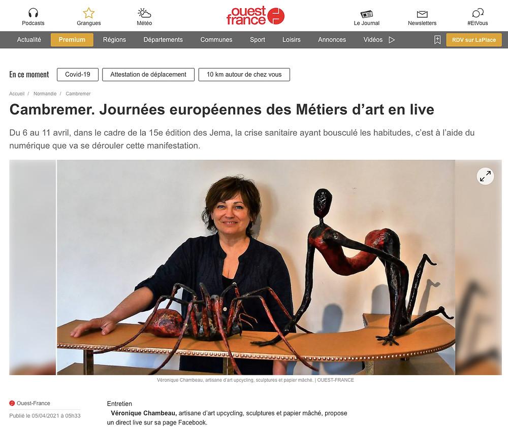 Journées Européennes des Métiers d'Art en live