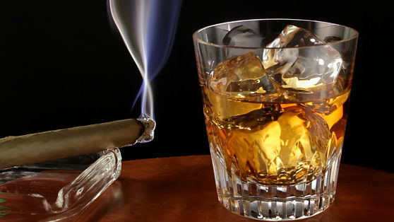 glass-whiskey-and-cigar-footage-01148491