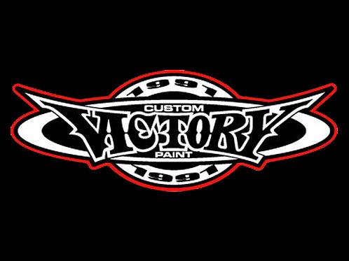 VICTORY 1991 オリジナルステッカー(レッド)