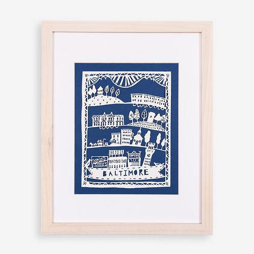 Annie Howe Papercuts Baltimore Laser Cut