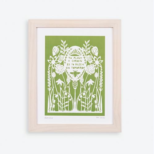 Annie Howe Papercuts Garden print