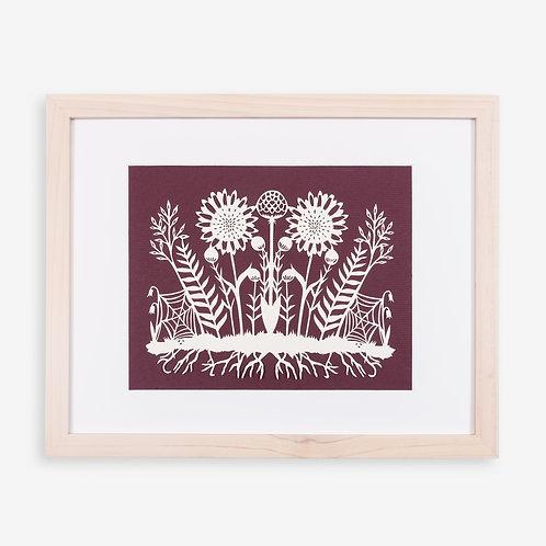 Annie Howe Papercuts Botanical Laser Cut