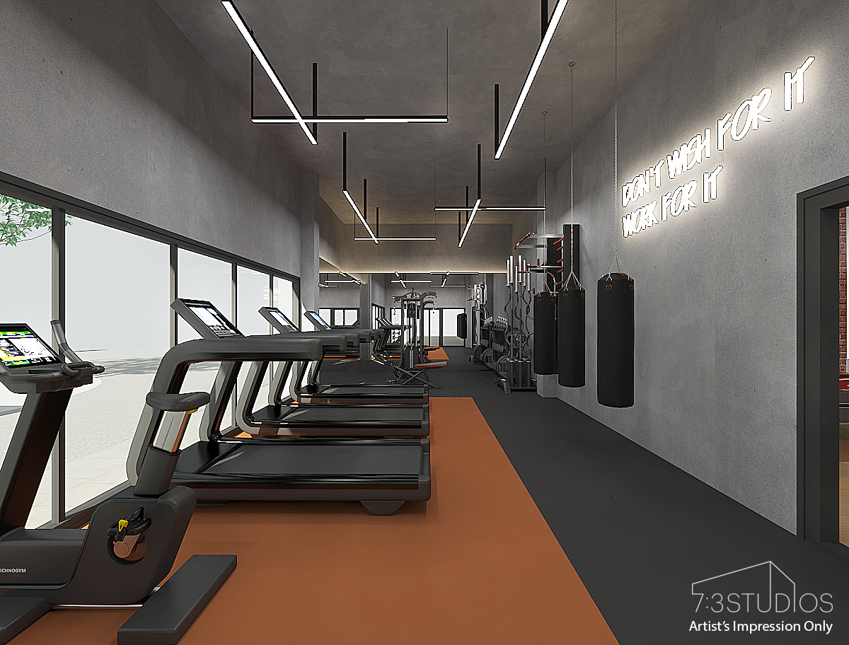 14. gym room