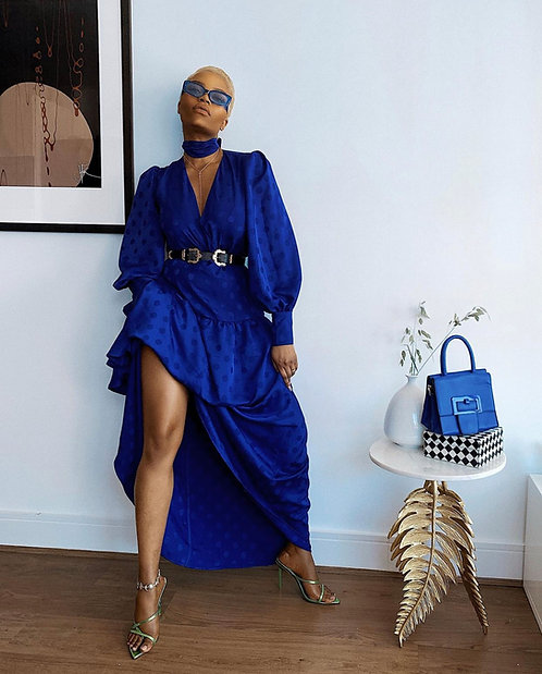 Coast blue maxi dress
