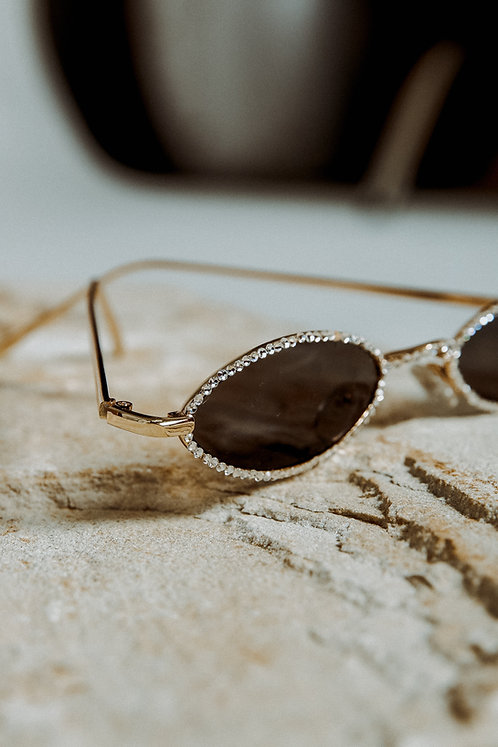 Diamante mini sunglasses