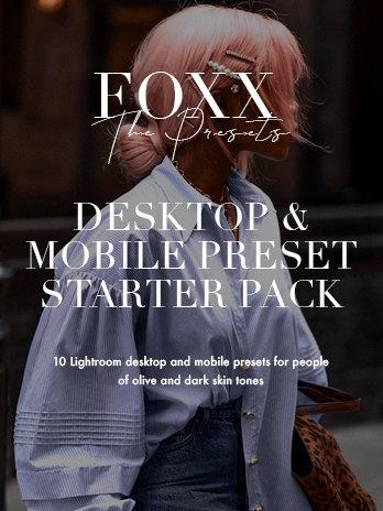 FOXX presets - Desktop and Mobile Starter Pack