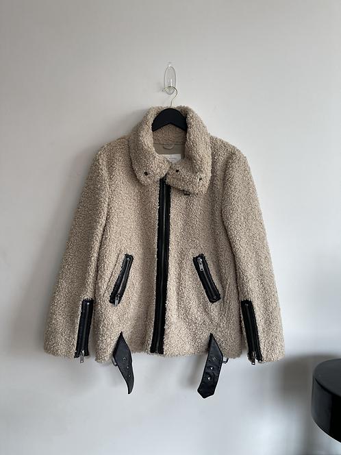 Zara shearling jacket