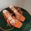 Thumbnail: RAID Orange Strappy Heels